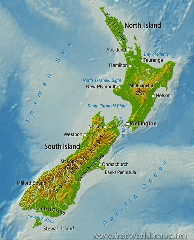New Zealands Gateway cities Welcome To New Zealand